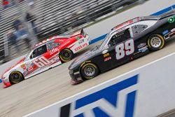 Chris Buescher, Roush Fenway Racing Ford and Morgan Shepherd