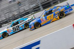 Joey Gase, Jimmy Means Racing Chevrolet and Jeremy Clements, Jeremy Clements Racing Chevolet