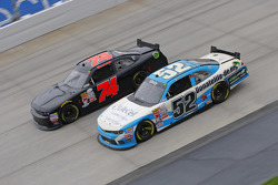 Joey Gase, Jimmy Means Racing Chevrolet and Mike Harmon