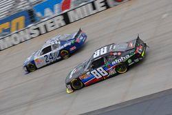 Eric McClure, JGL Racing Toyota dan Ben Rhodes, JR Motorsports Chevrolet