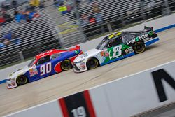Mario Gosselin, King Autosport Chevrolet y Blake Koch, TriStar Motorsports Toyota