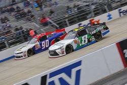 Blake Koch, TriStar Motorsports Toyota y Mario Gosselin, King Autosport Chevrolet