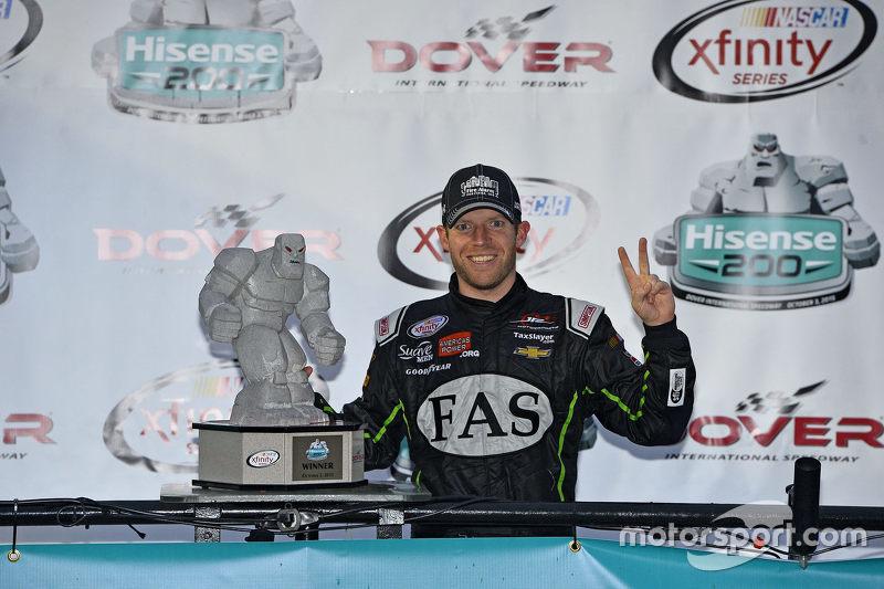 Winnaar Regan Smith, JR Motorsports Chevrolet