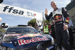 Le vainqueur Jari-Matti Latvala, Volkswagen Motorsport