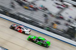 Darrell Wallace Jr., Roush Fenway Racing Ford and Regan Smith, JR Motorsports Chevrolet