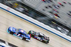Elliott Sadler, Roush Fenway Racing Ford and Ben Rhodes, JR Motorsports Chevrolet