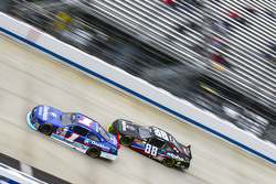 Elliott Sadler, Roush Fenway Racing Ford and Ben Rhodes, JR Motorsports Chevrolet