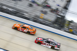 Daniel Suarez, Joe Gibbs Racing Toyota and Austin Dillon, Richard Childress Racing Chevrolet