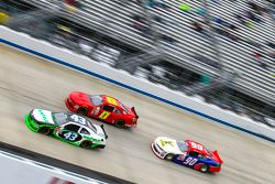 Dakoda Armstrong, Richard Petty Motorsports Ford and Harrison Rhodes, JD Motorsports Chevrolet and Mario Gosselin, King Autosport Chevrolet