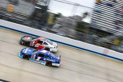 Elliott Sadler, Roush Fenway Racing Ford and Darrell Wallace Jr., Roush Fenway Racing Ford