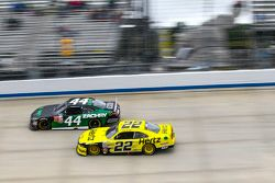 David Starr, TriStar Motorsports Toyota and Ryan Blaney, Team Penske Ford