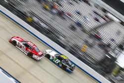Chris Buescher, Roush Fenway Racing Ford and Blake Koch, TriStar Motorsports Toyota