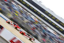 Chris Buescher, Roush Fenway Racing Ford and Austin Dillon, Richard Childress Racing Chevrolet