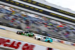 David Starr, TriStar Motorsports Toyota and Denny Hamlin, Joe Gibbs Racing Toyota