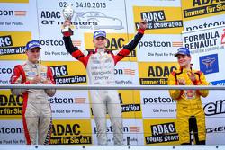 Podium: winner Louis Deletraz, Josef Kaufmann Racing, second place Kevin Jörg, Josef Kaufmann Racing