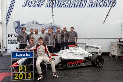 2015 champion Louis Deletraz, Josef Kaufmann Racing