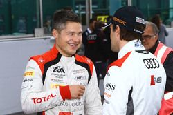 Christopher Mies, Belgian Audi Club Team WRT and Markus Winkelhock, Phoenix Racing