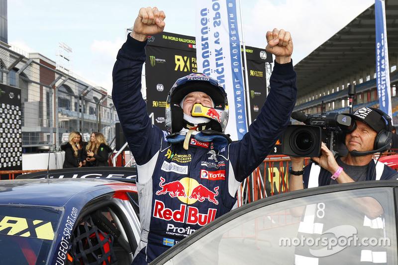 Kazanan Timmy Hansen, Peugeot Hansen Takımı
