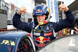 Il vincitore Timmy Hansen, Team Peugeot Hansen