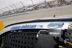 Jimmie Johnson, Hendrick Motorsports Chevrolet, vor seinem 500. Rennen