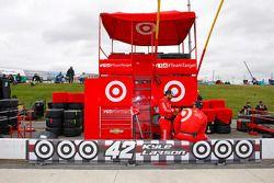 Pitbox Kyle Larson, Chip Ganassi Racing