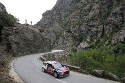 Stéphane Lefebvre and Stéphane Prévot, Citroën DS3 WRC, Citroën World Rally Team