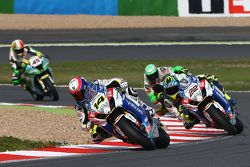 Randy de Puniet e Alex Lowes, VOLTCOM Crescent Suzuki