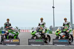 Jonathan Rea, Kawasaki Racing Team, Kenan Sofuoglu y Toprak Razgatlioglu, Kawasaki Puccetti Racing