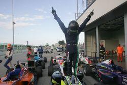 Il vincitore di Gara 2 Joao Vieira, Antonelli Motorsport
