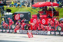 Chip Ganassi Racing si prepara per un pitstop