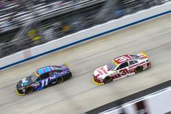 Denny Hamlin, Joe Gibbs Racing Toyota and Ryan Newman, Richard Childress Racing Chevrolet