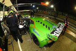 #19 GRT Grasser Racing Team Lamborghini Huracan: Alberto Di Folco, Jeroen Mul
