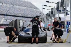 Test della Ford GT con il Team Chip Ganassi Racing
