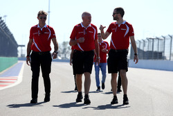 John Booth, director del equipo, Manor F1 Team, Graeme Lowdon, Manor Marussia F1 Team Director Ejecu
