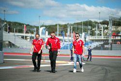 Will Stevens, Manor Marussia F1 Takımı, pistte yürüyor