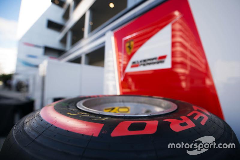 Шини Pirelli для Ferrari team