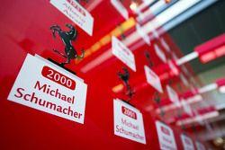 Lista de campeões da Ferrari com Michael Schumacher