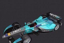 Rendering della nuova livrea NEXTEV TCR Formula E Team