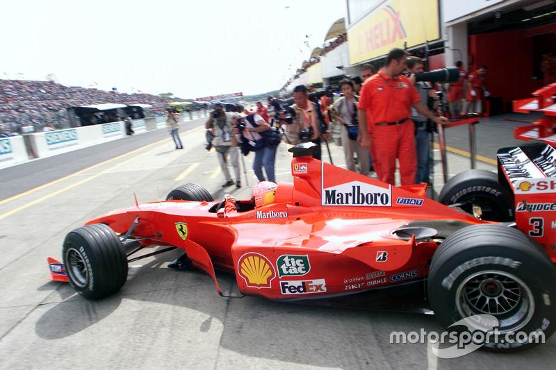 31. Japón 2000, Ferrari F1-2000