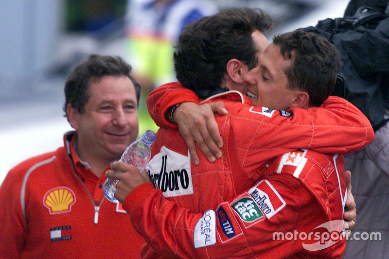 Ferrari and Italy are proud of Schumacher