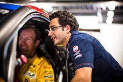 Stefan Mücke, dan Fernando Rees, Aston Martin Racing