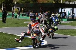 Dani Pedrosa, Repsol Honda Team, remporte le challenge minimoto
