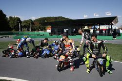 Un challenge minimoto pour les pilotes MotoGP
