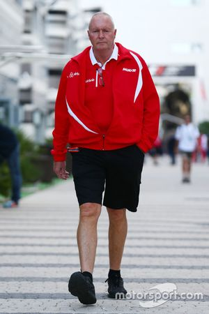 John Booth, Manor F1 Team Director del equipo