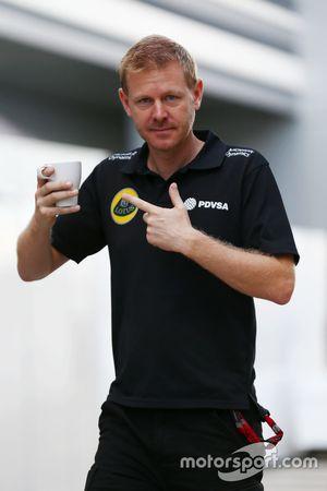 Andy Stobart, Lotus F1 Team persverantwoordelijke