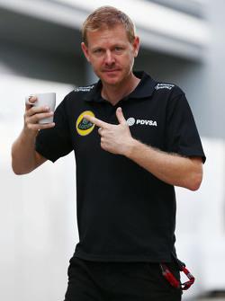 Andy Stobart, Lotus F1 Team, Pressesprecher