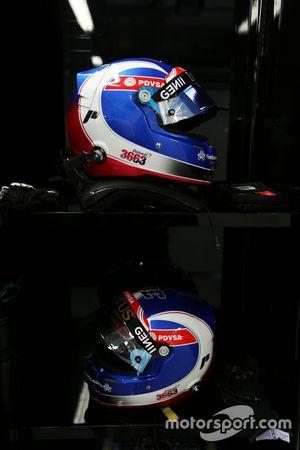 Les casques de Jolyon Palmer, Pilote d'essais et de réserve Lotus F1 Team