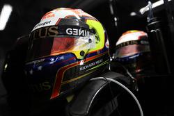 Les casques de Pastor Maldonado, Lotus F1 Team