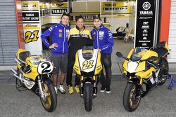 Valentino Rossi, Katsuyuki Nakasuga, Jorge Lorenzo, Yamaha Factory Racing