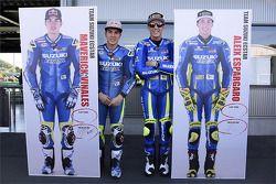 Maverick Viñales, Aleix Espargaro, Team Suzuki MotoGP